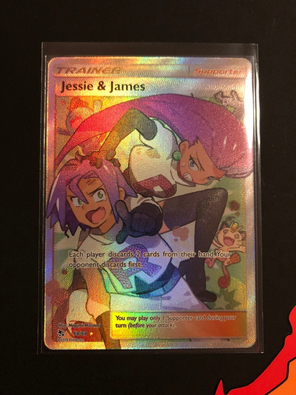 Jessie and James Full Art Hidden Fates
