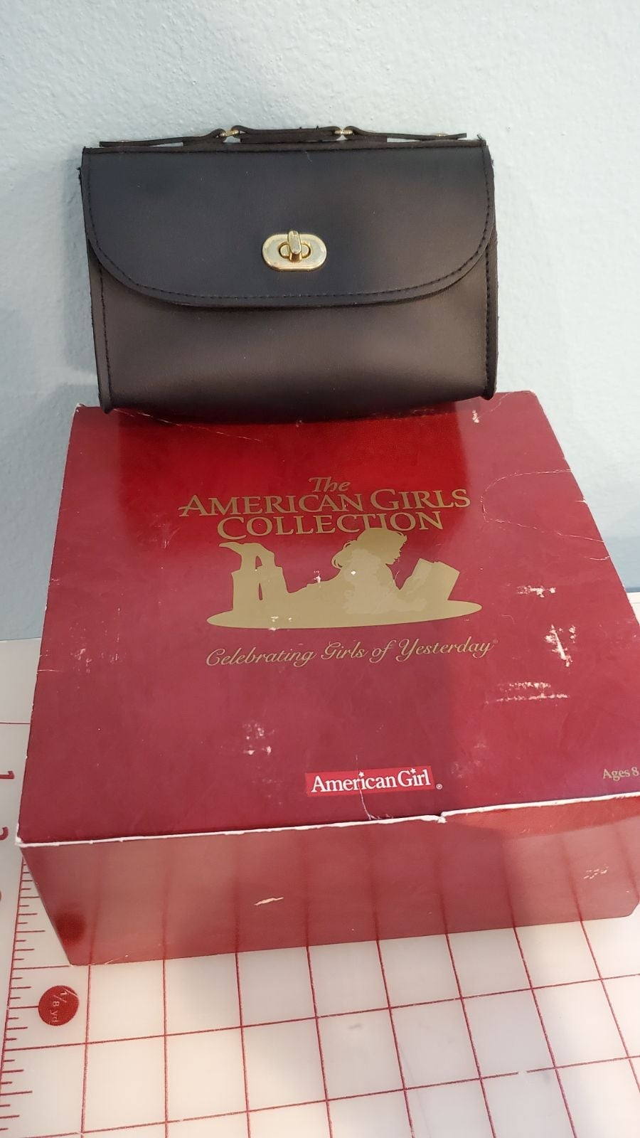 American Girl doll Samantha valise case
