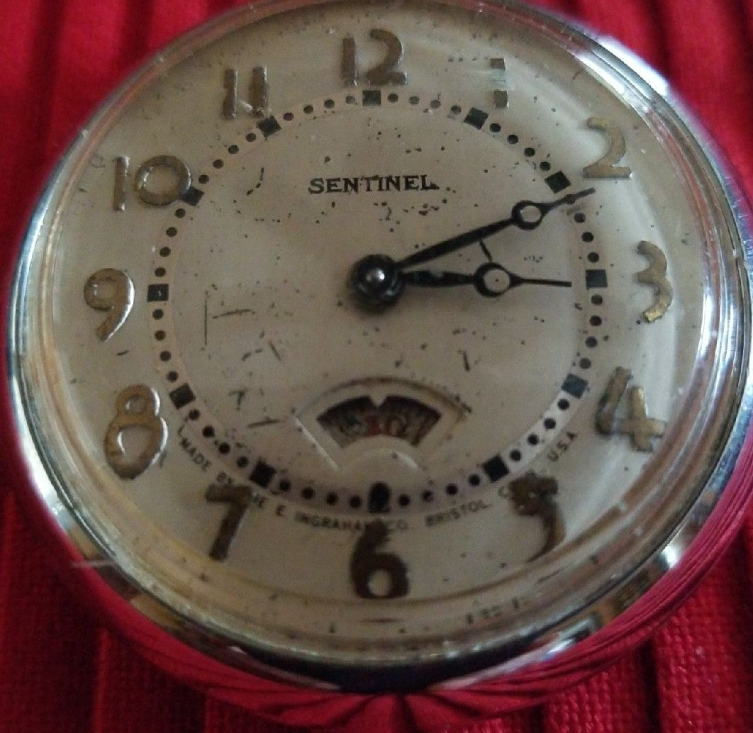 Vintage sentinel pocket watch