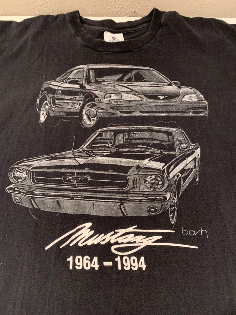 Vintage Ford Mustang Shirt 1994