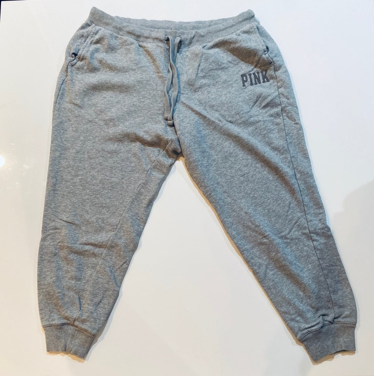 PINK Sweatpants Grey