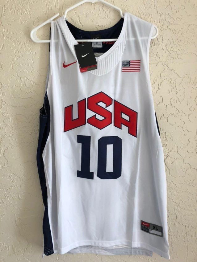 Kobe Bryant 10 USA Olympic dream team L