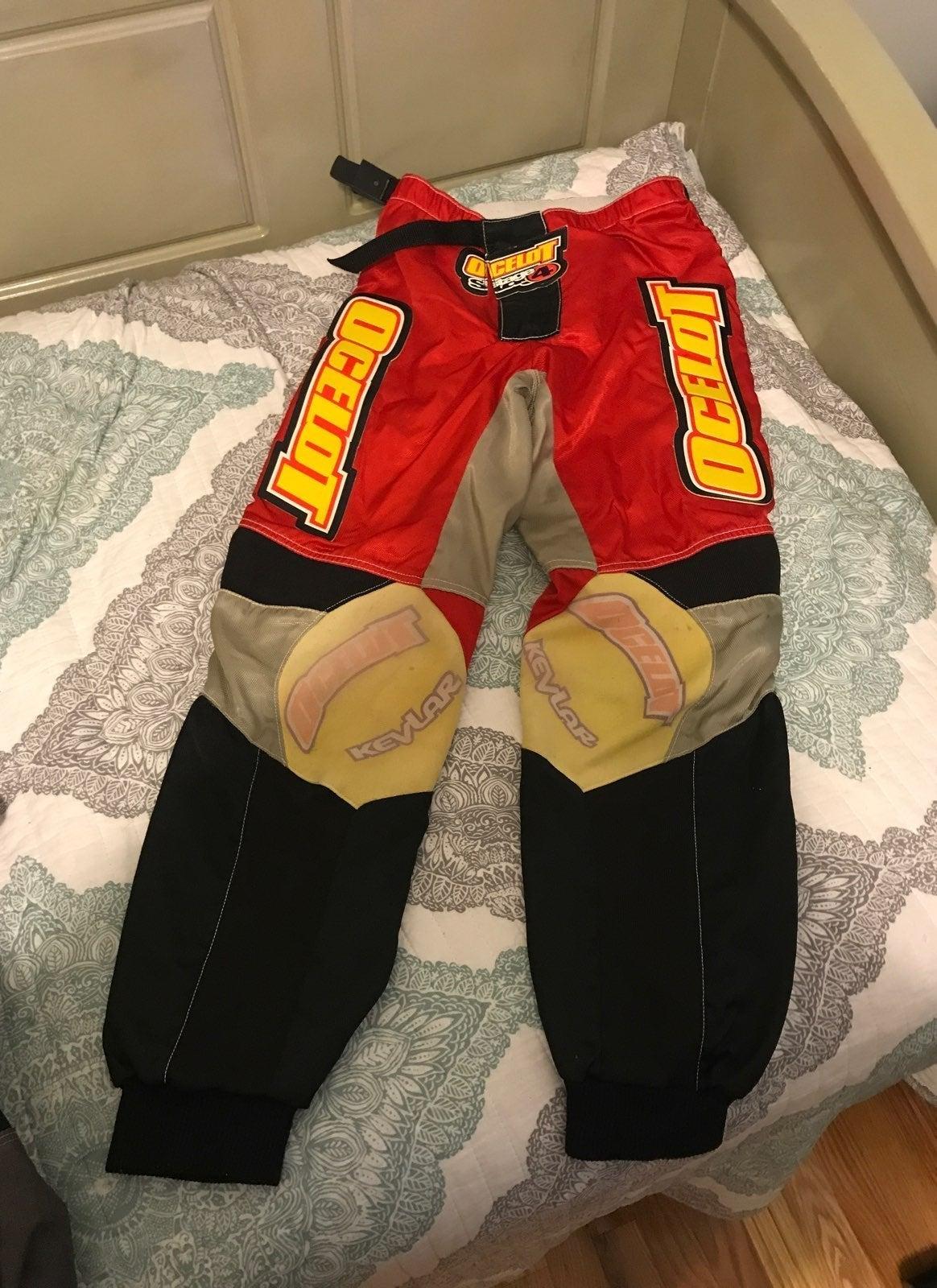 Ocelot Motorcycle Pants Size 28