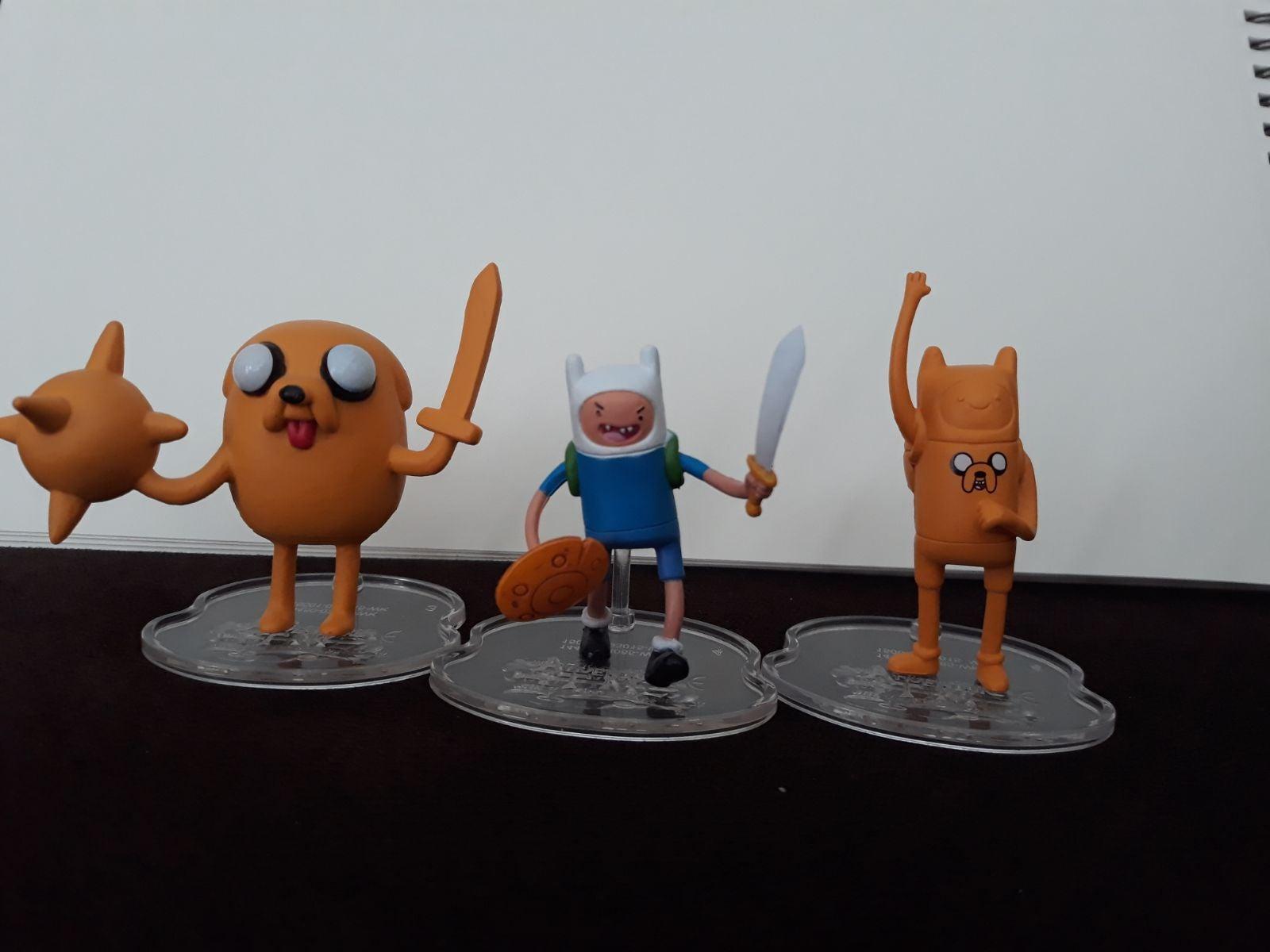 finn And Jake Figurines