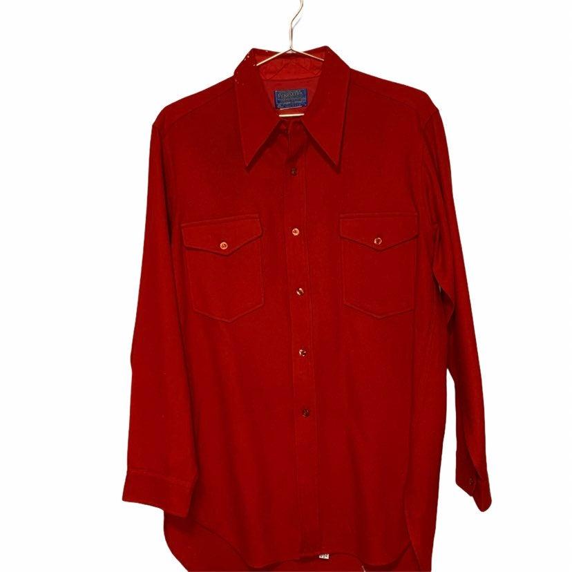 Vintage Mens Pendleton Wool Button Down
