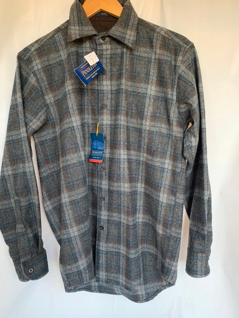 Pendleton NWT Lodge Plaid Wool Shirt S