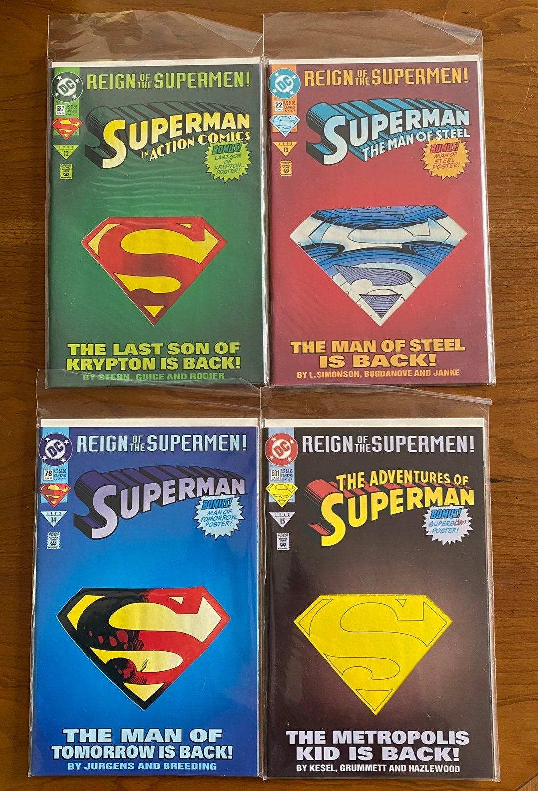 Superman - Reign Of The Supermen! Set