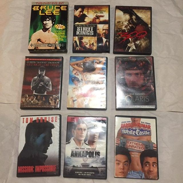 DVD bundle lot