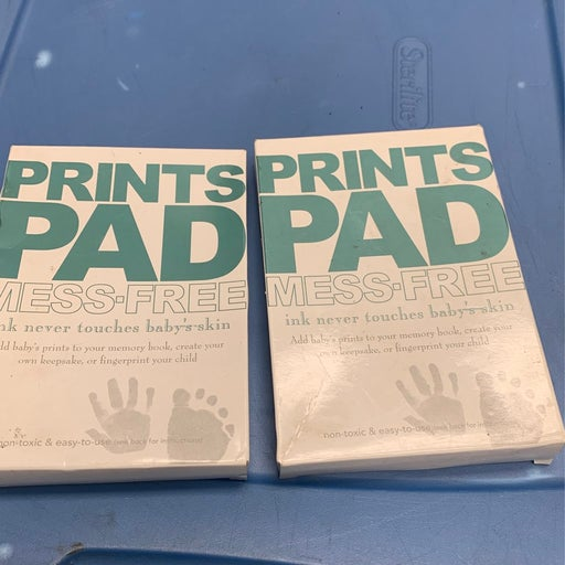 Baby Safe Inkless Touch Footprint Ink Pa