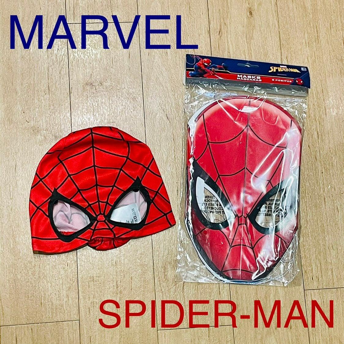 【MARVEL】SPIDERMAN Mask8pc Bundle☆