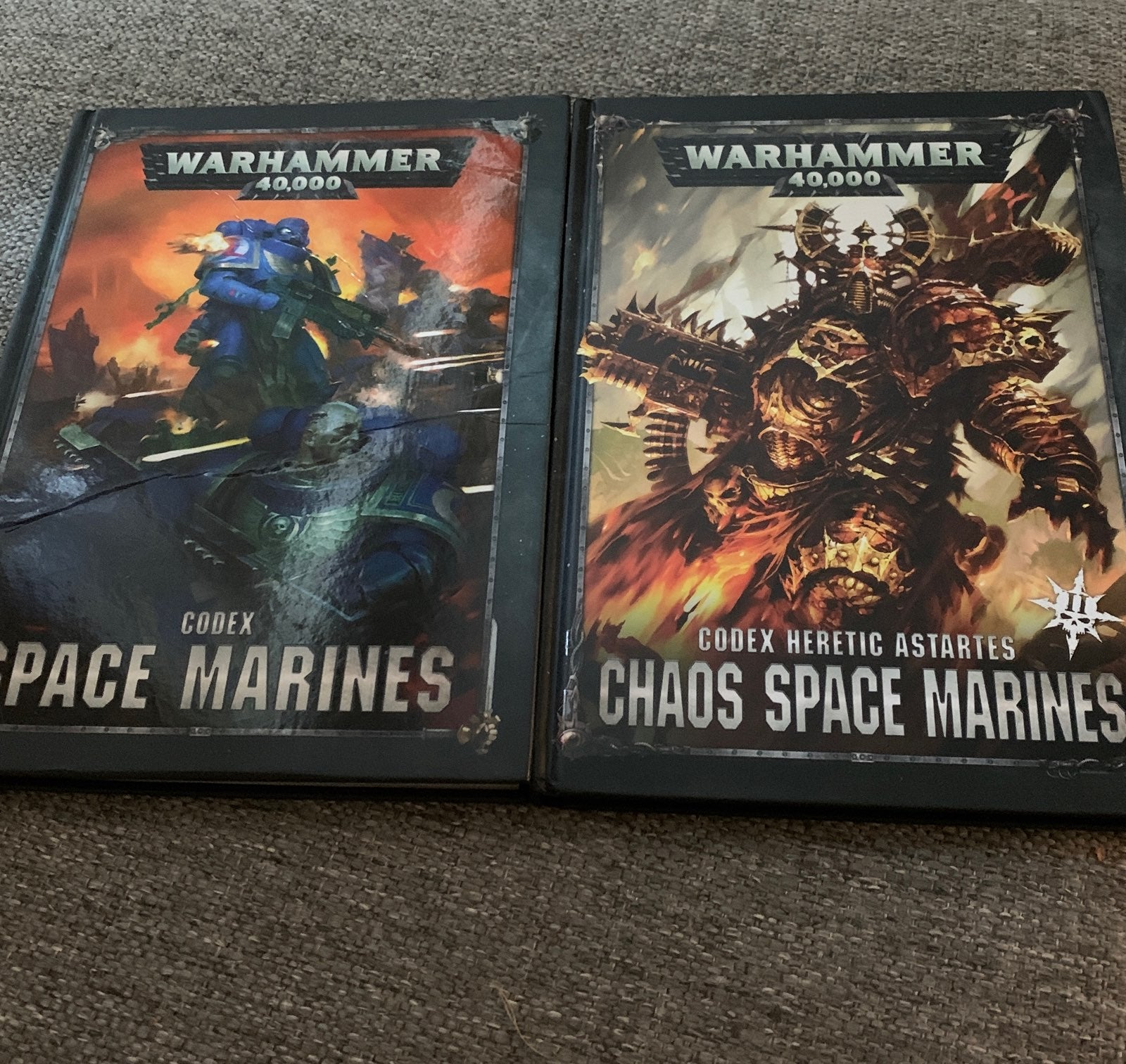 2 warhammer 40k codex's