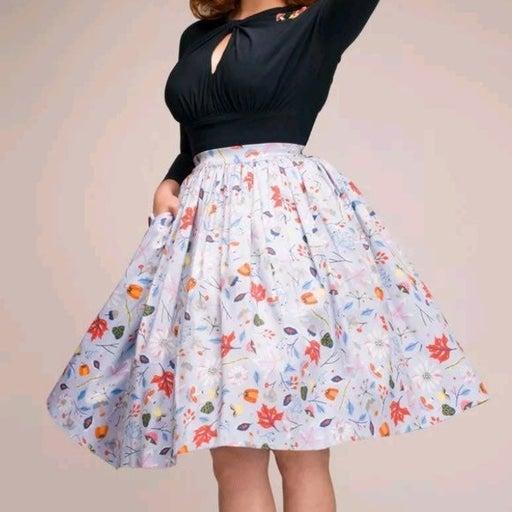 Dapper Day Flower Skirt