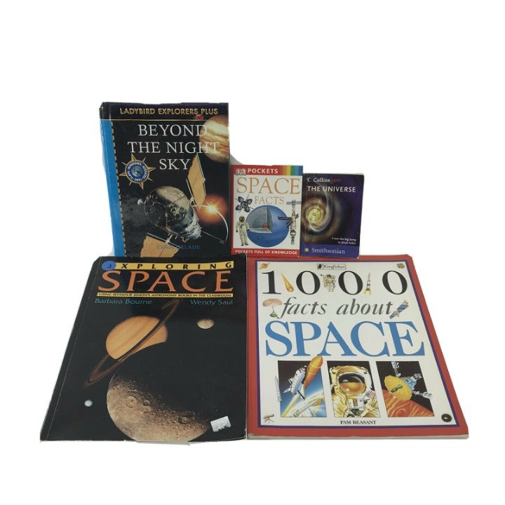 5 Non-fiction Kids Books About Space RL4