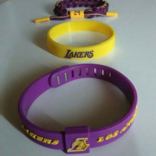 kobe bryant/Lakers wristbands
