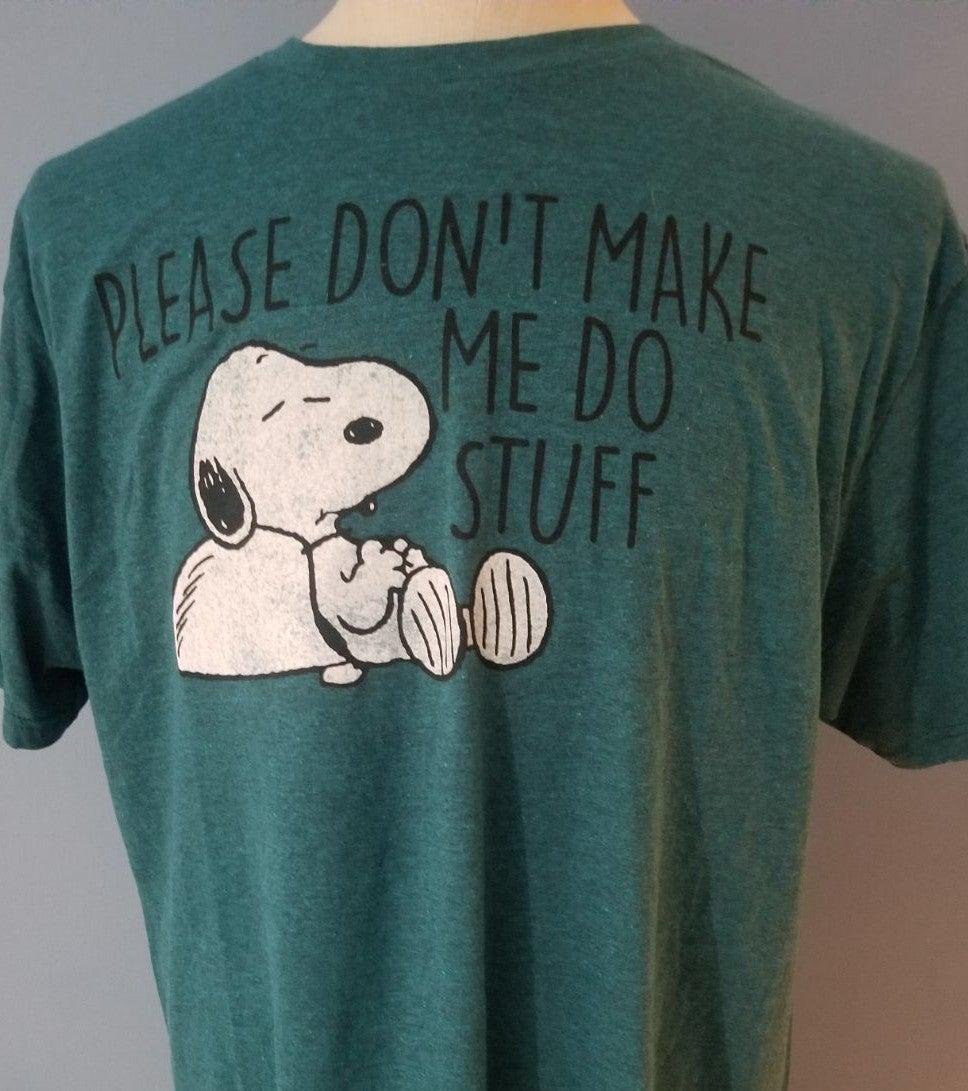 Peanuts Snoppy T Shirt, like new