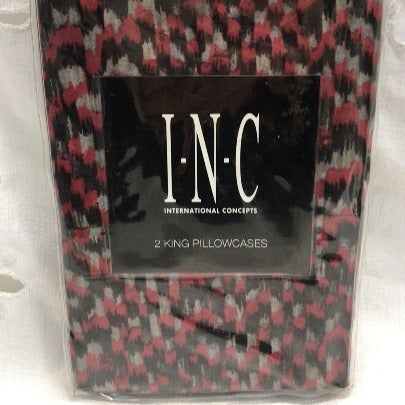 INC 2 KING PILLOWCASES CASCADE