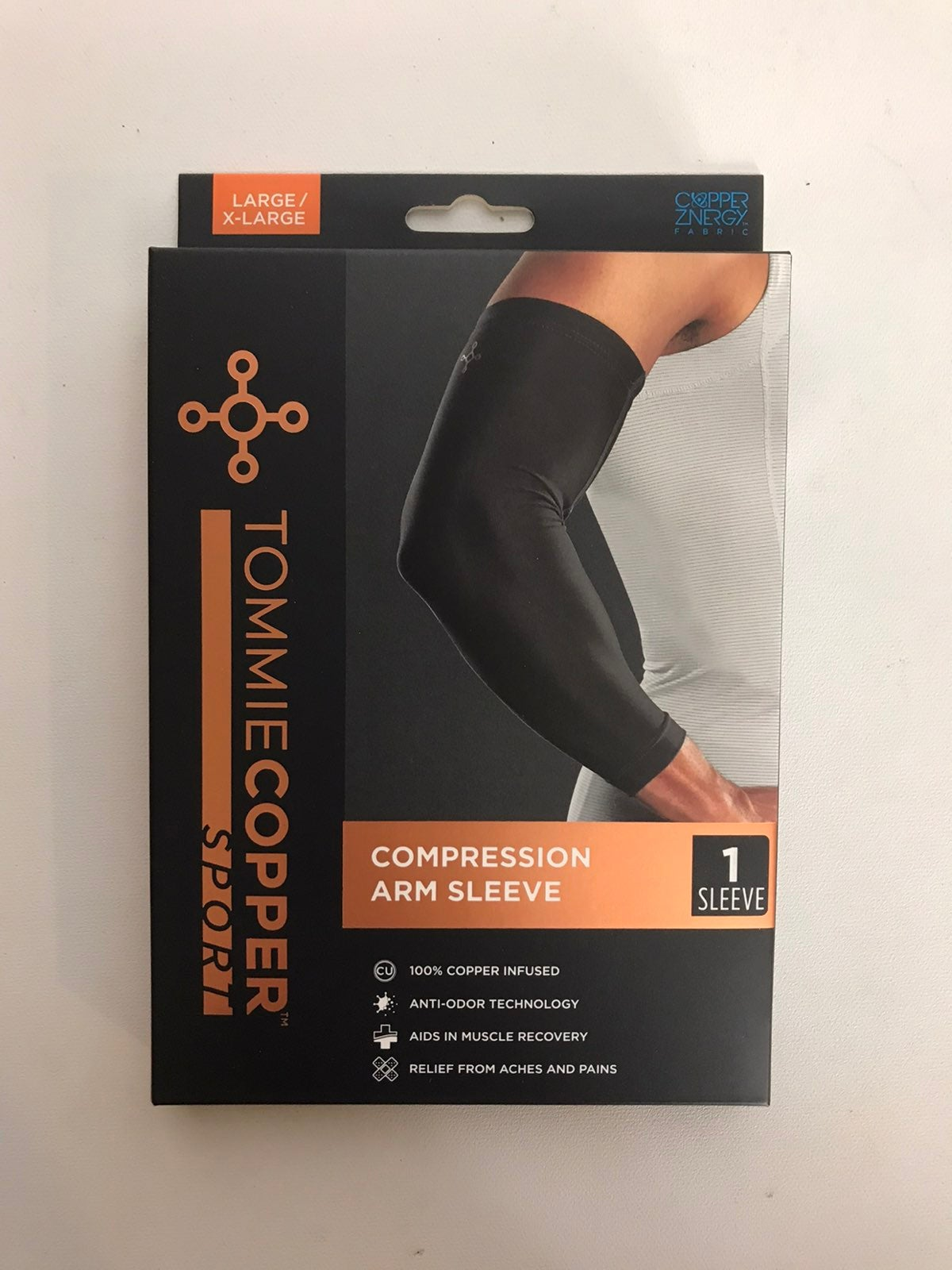Tommie Copper compression arm sleeve