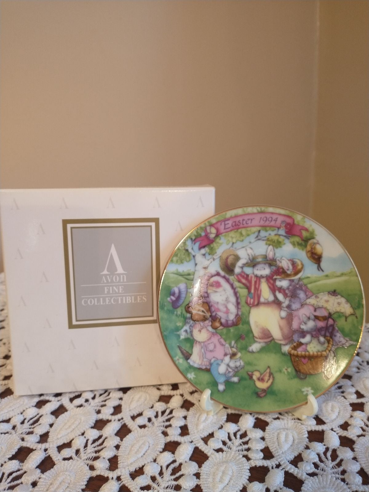 Avon Easter plate collection (4)