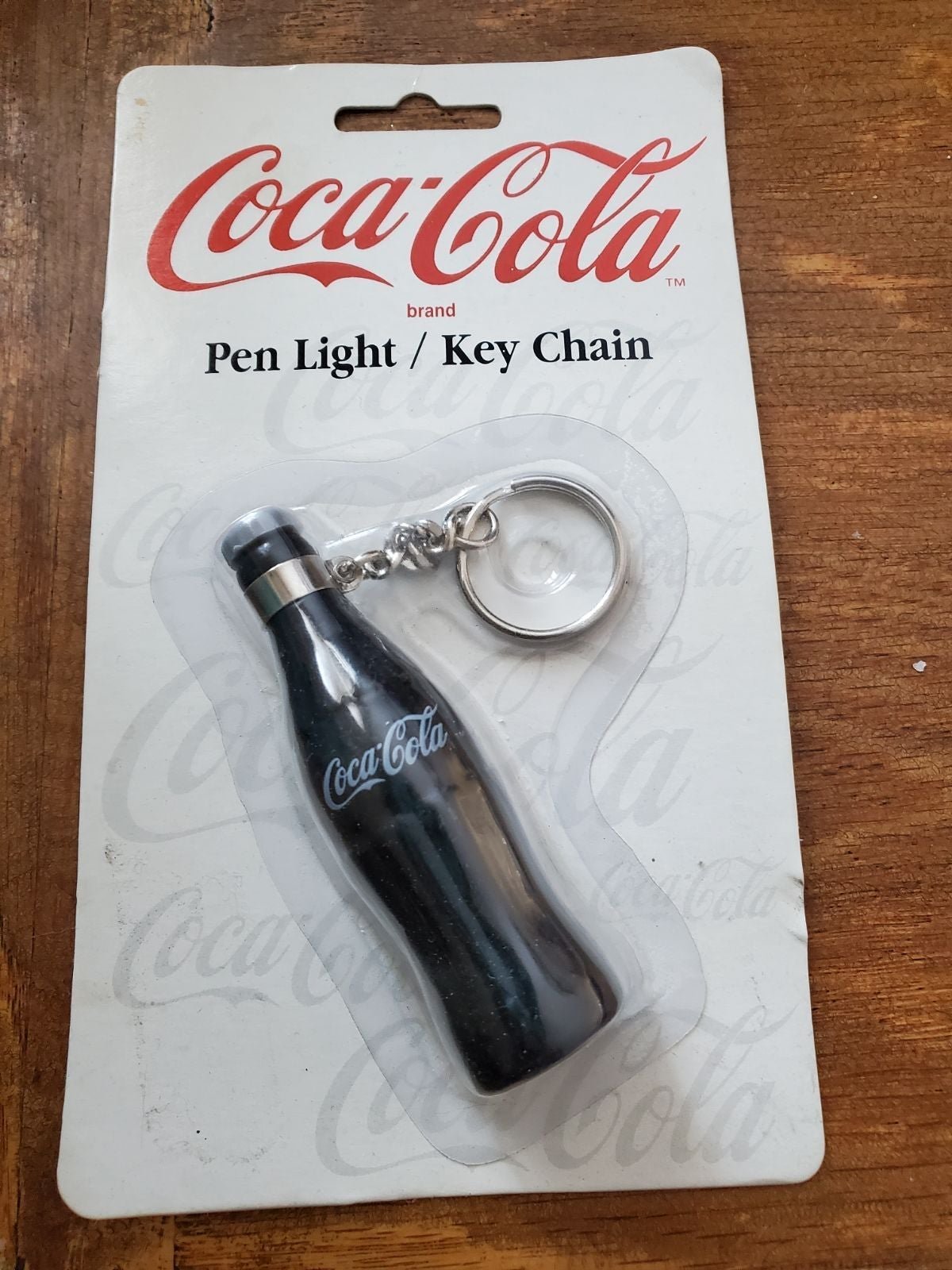 Coca-Cola pen light/key chain