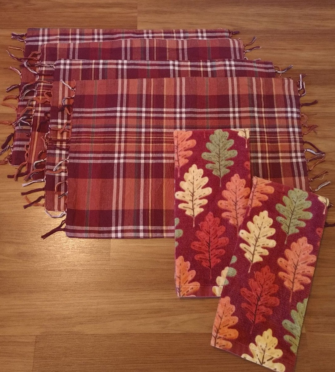 Farmhouse Fall Placemats & Towels