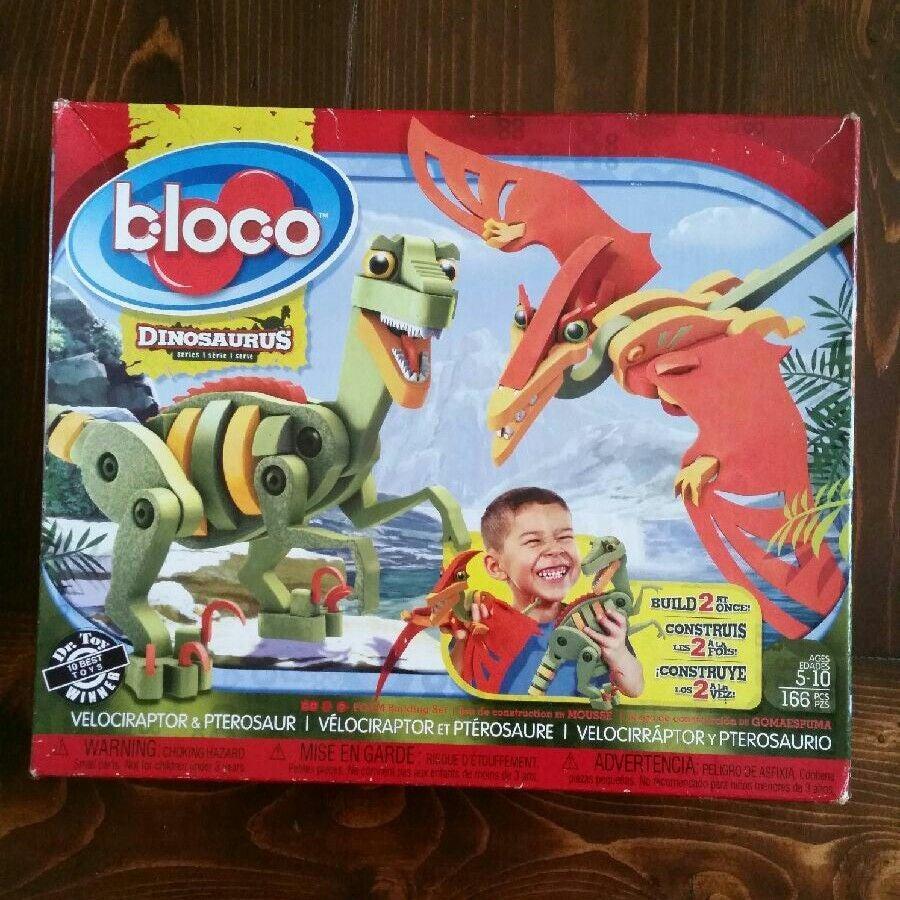 Bloco Dinosaur Building Set