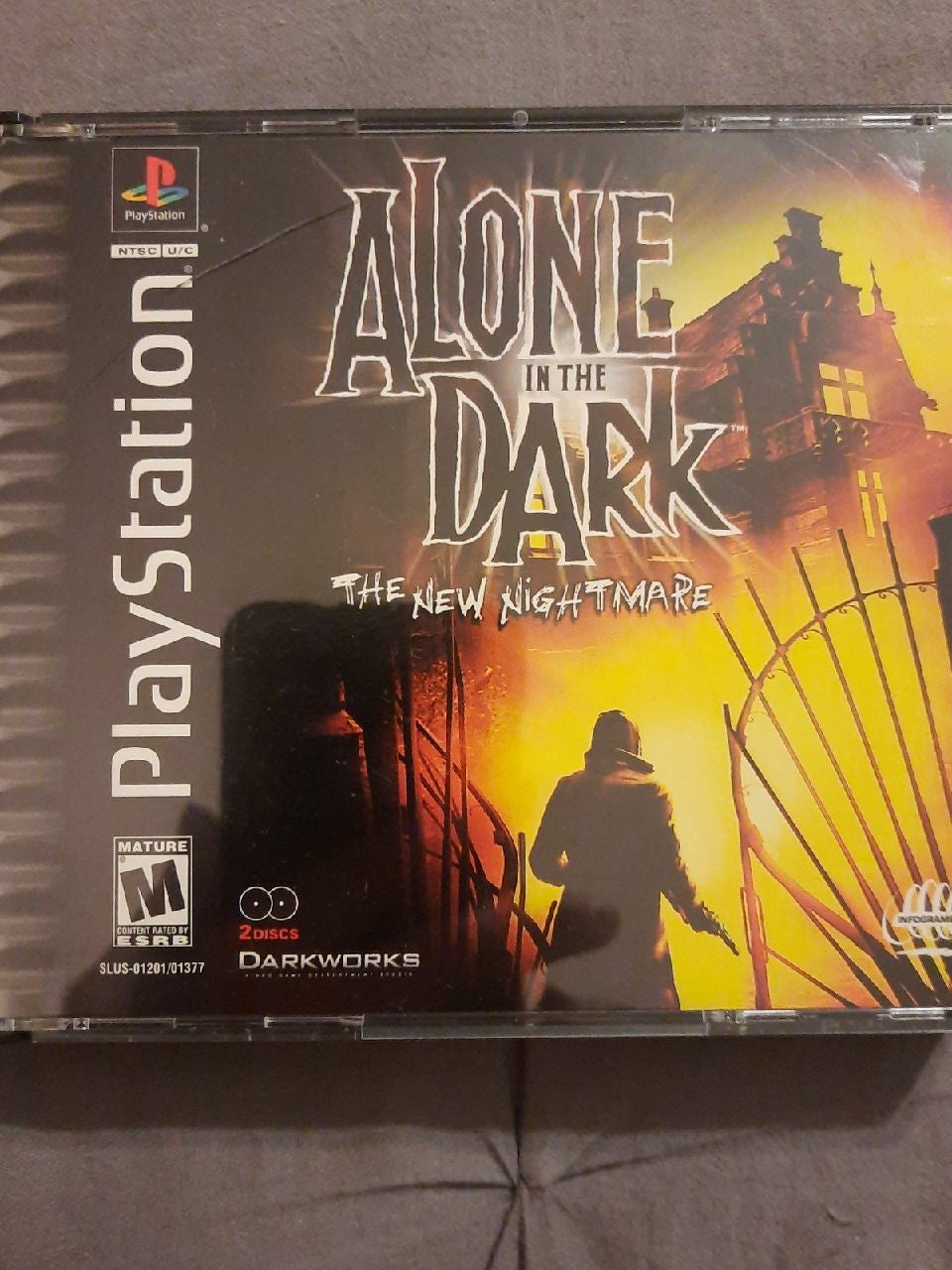 Alone in the Dark- The New Nightmare set