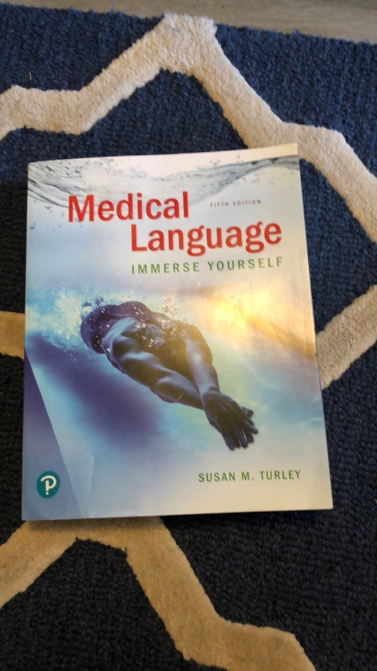 Pearson medical language book