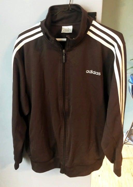 Men's brown Adidas jacket size medium