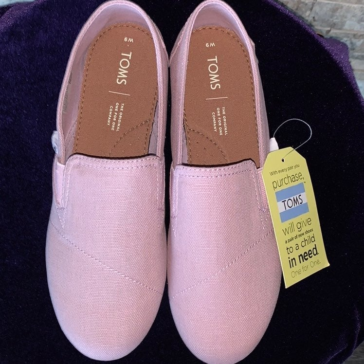 Toms Lilac Size 9