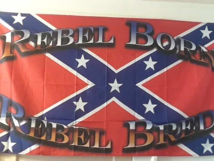Rebel Born & Bred Flag (Collection Item)