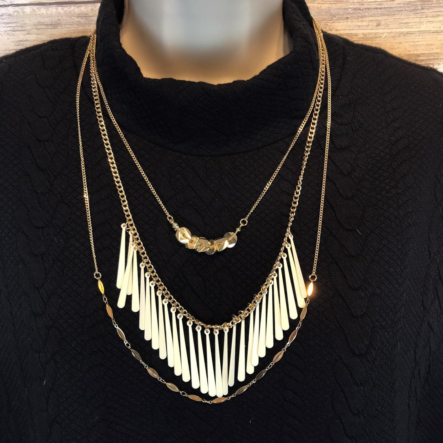 NWOT BaubleBar Muti Strand Necklace