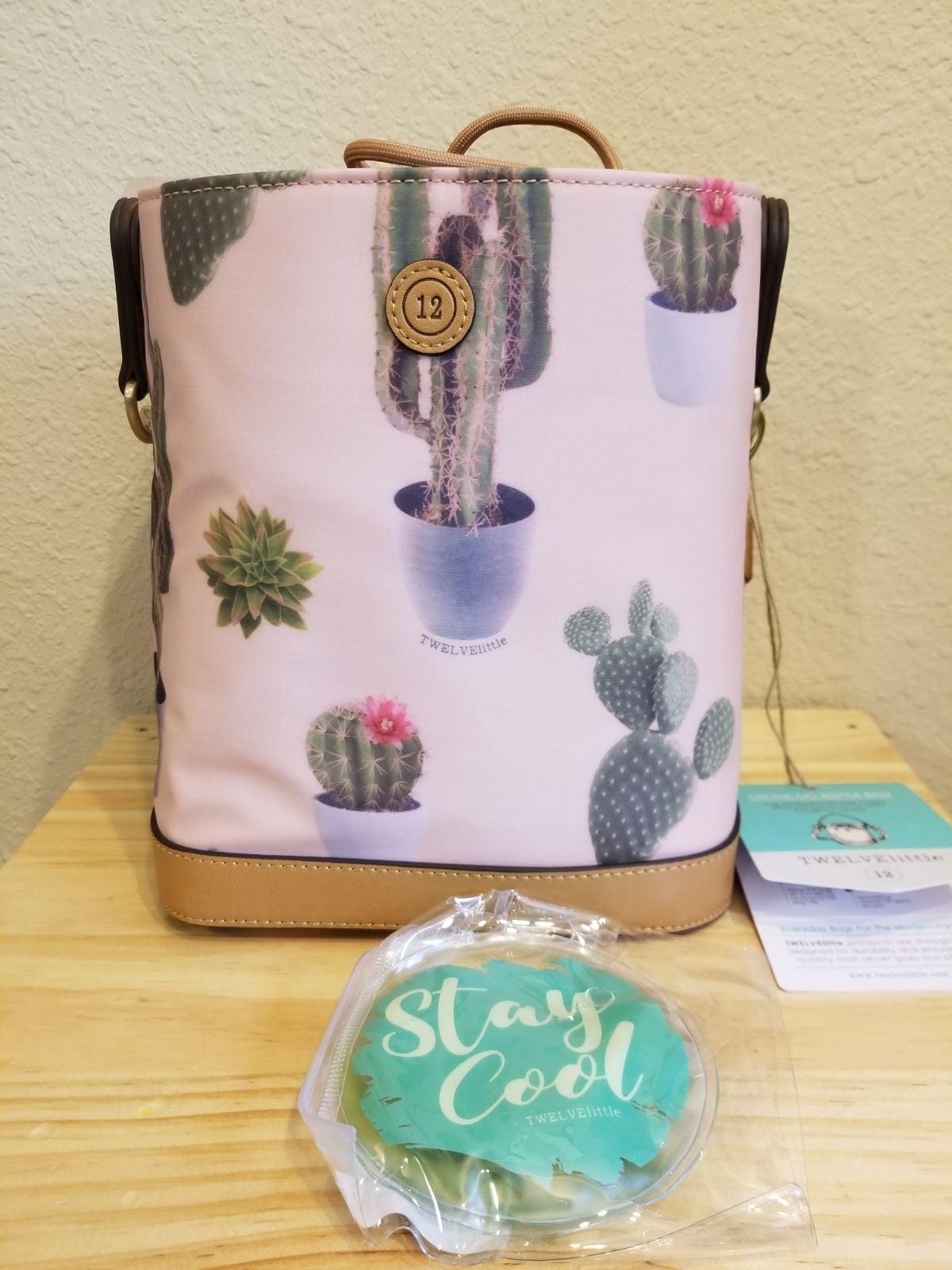 Twelvelittle Insulated Bottle Bag (Cactu