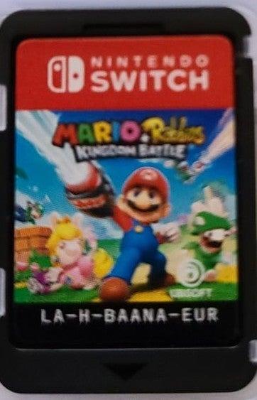 Mario Plus Rabbids Kingdom Battle on Nin