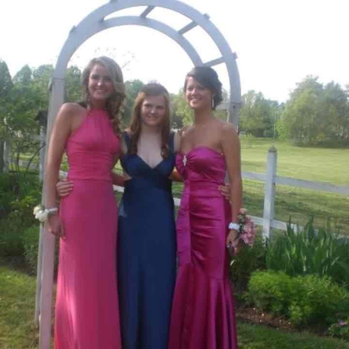 Kay unger prom dress