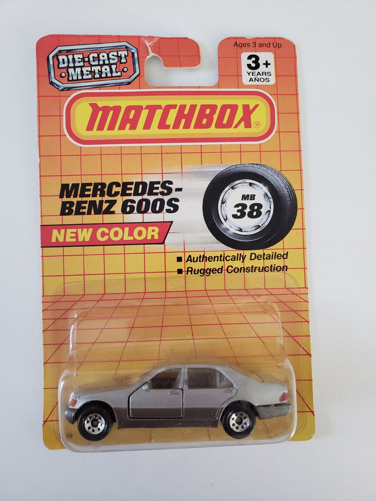 Matchbox Car - Mercedes 600s