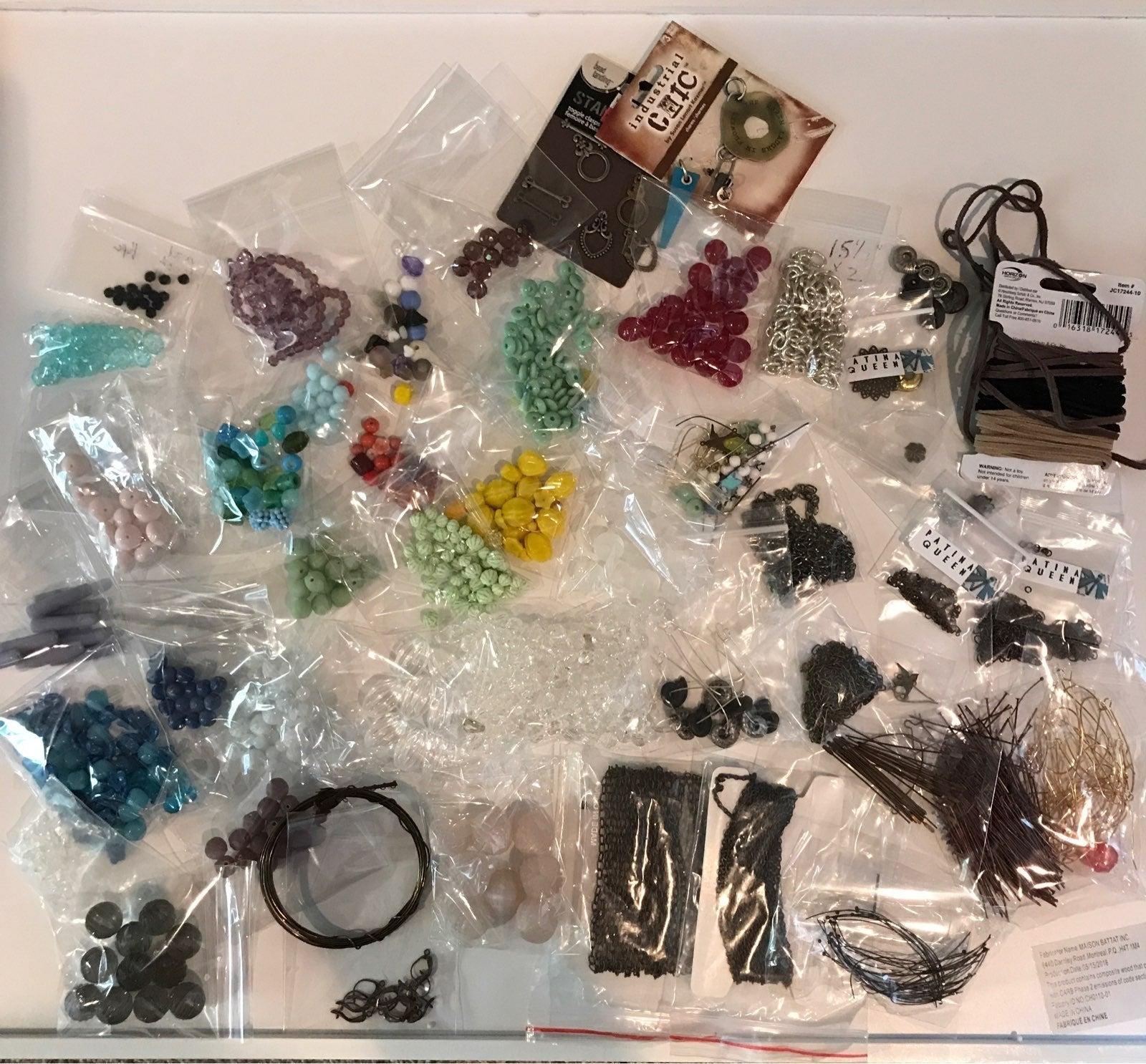 Jewelry making supplies beads hardware e
