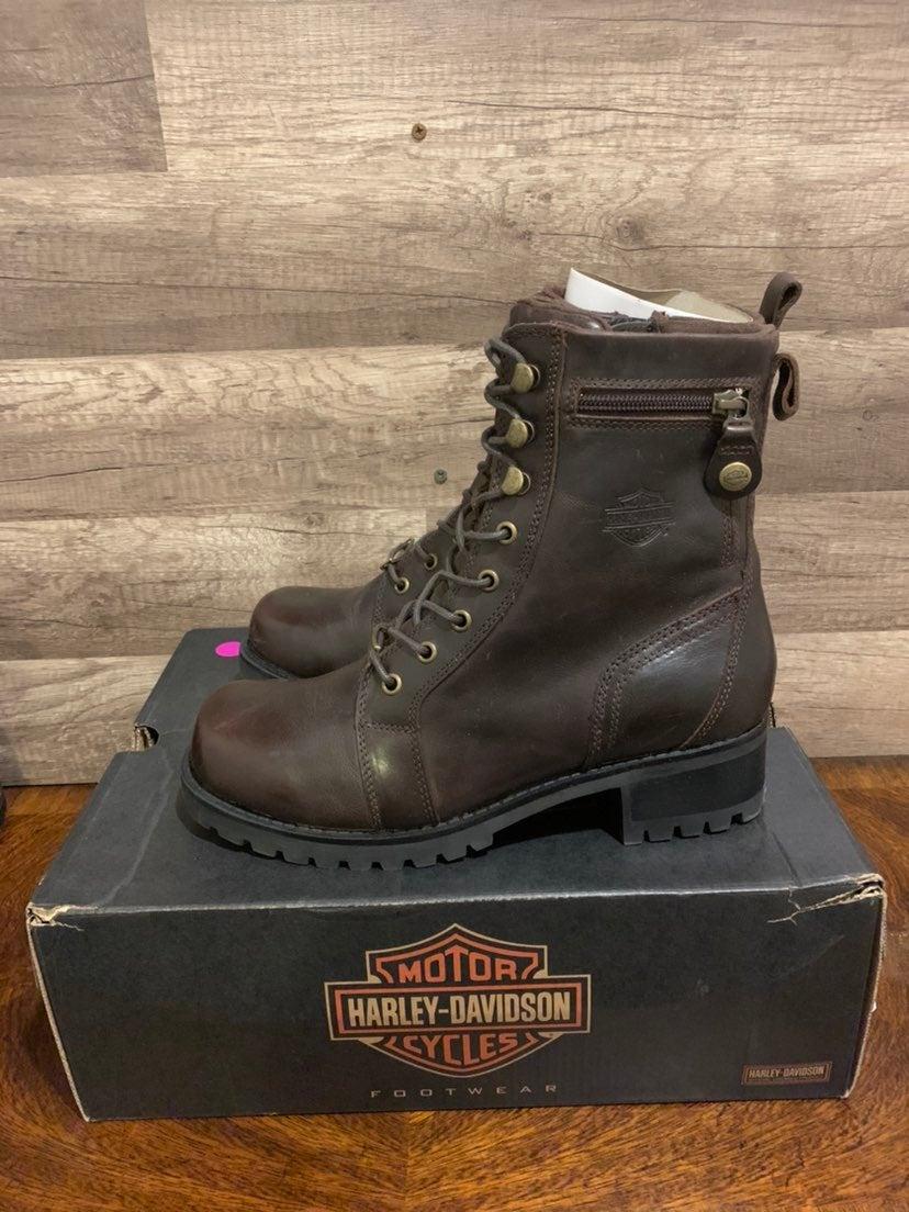 Harley Davidson Keeler Boots Womens 10