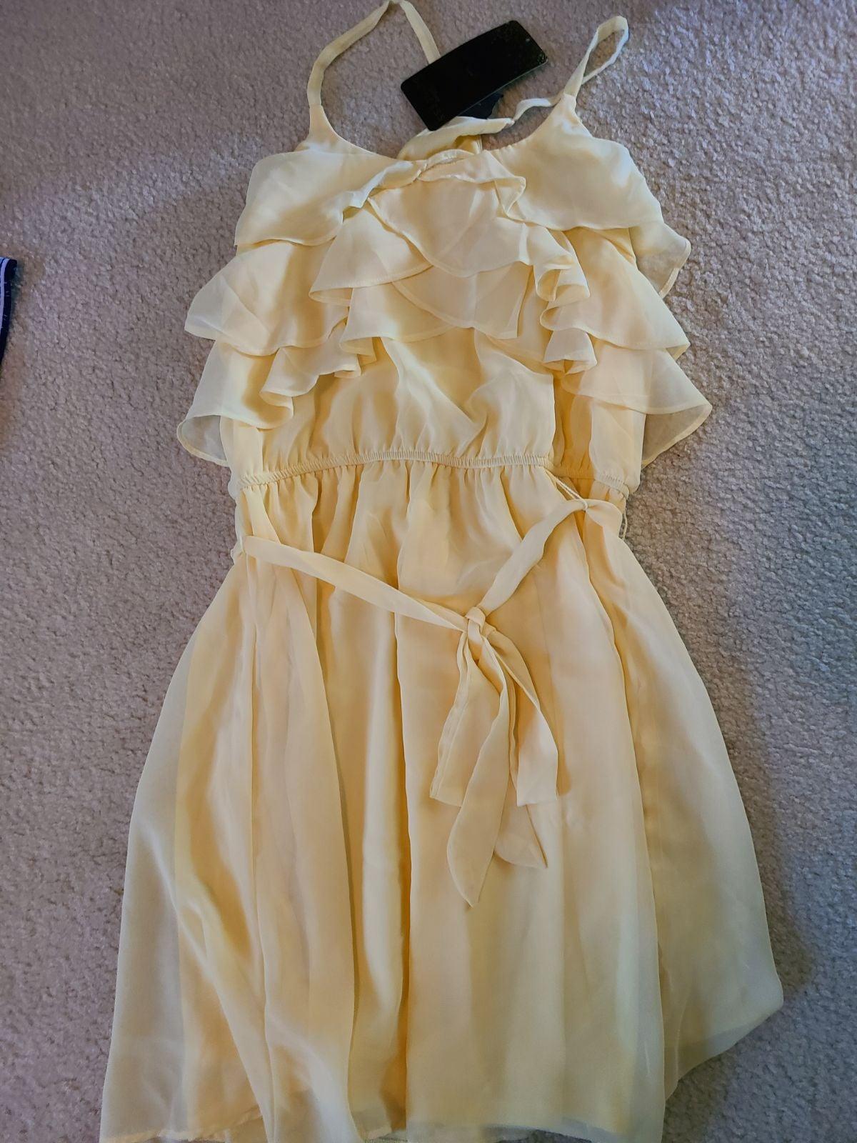 Disney Princess Belle Yellow Dress