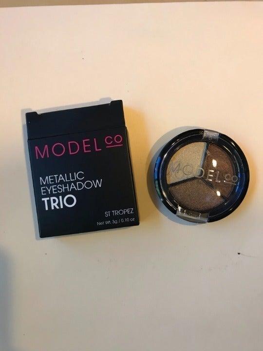 Model Co Metallic Eyeshadow Trio