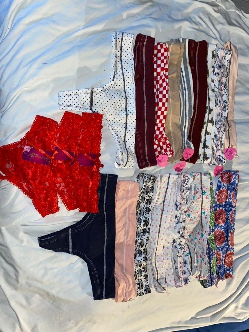 Lot 20 Thong undies Size L NEW w/tags