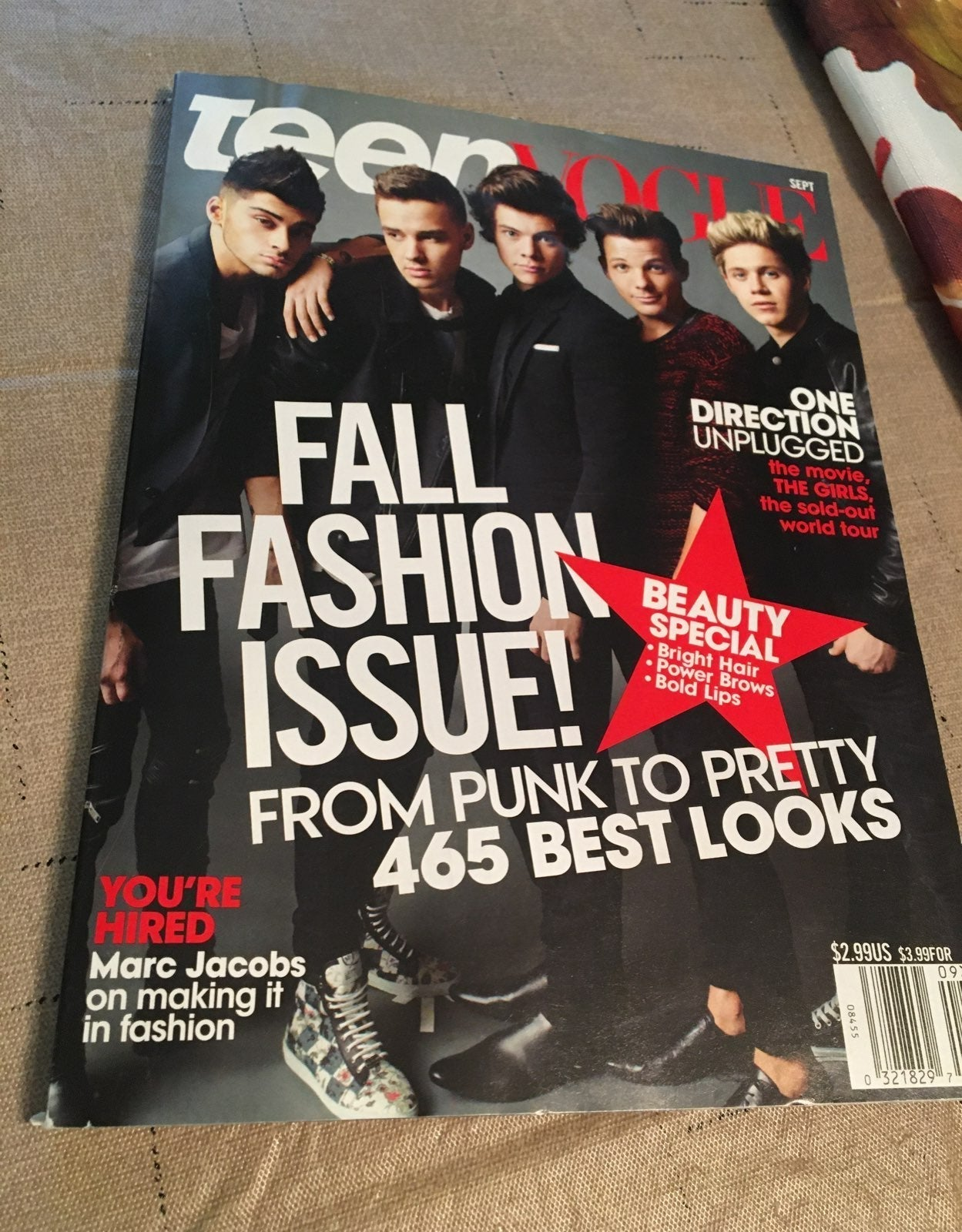 One direction magazine and book
