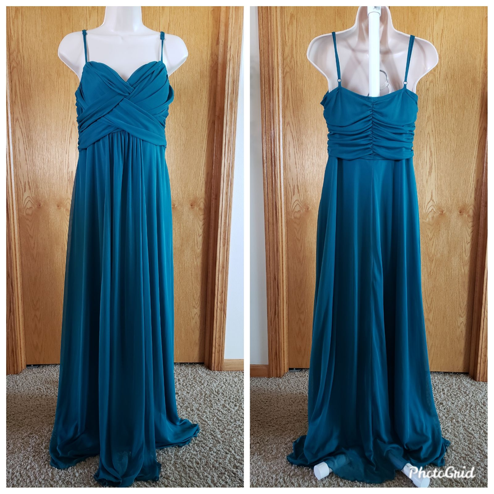 MAURICES LARGE GREEN GOWN