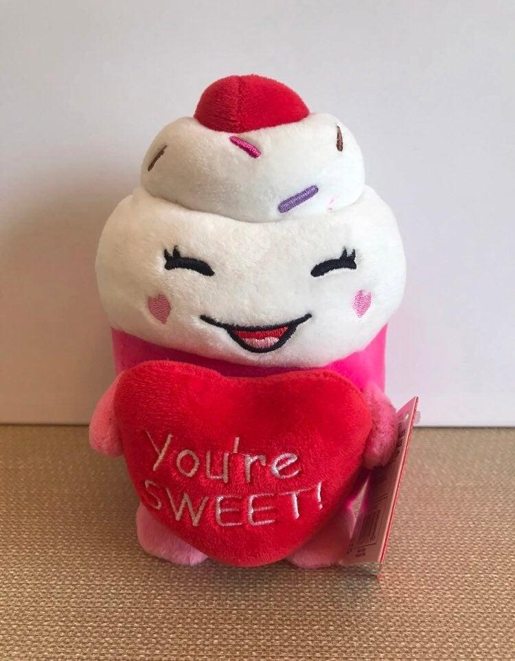 "Russ Plush Cupcake ""You're Sweet"""