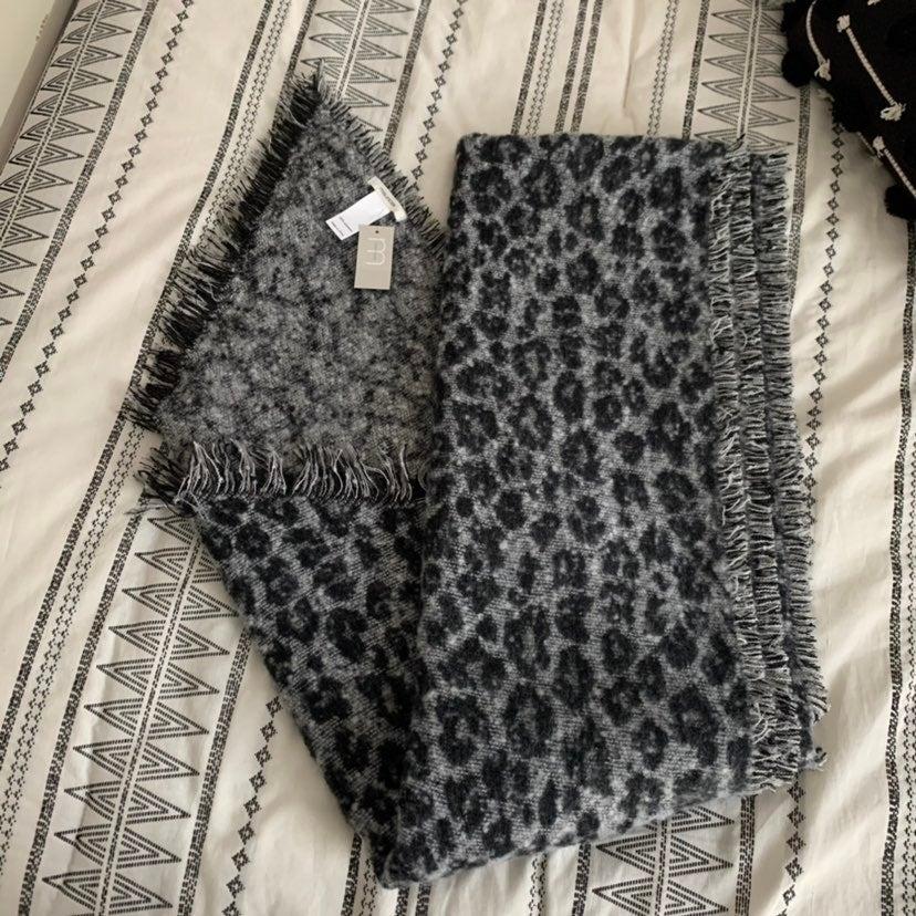 Leopard Prinf Blanket Scarf