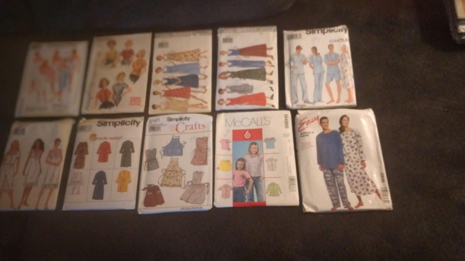 10 Vintage  Patterns mccalls Butterick