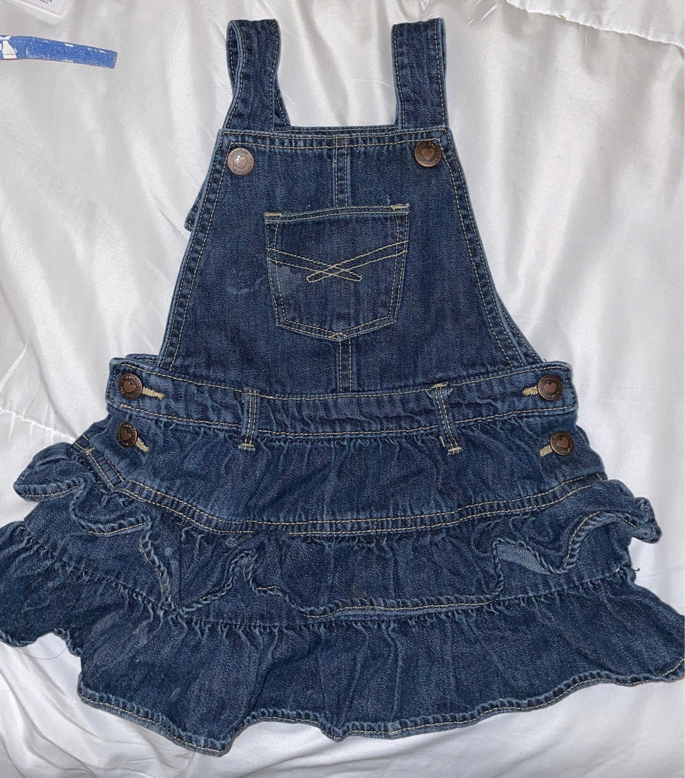 Overall Baby gap dress