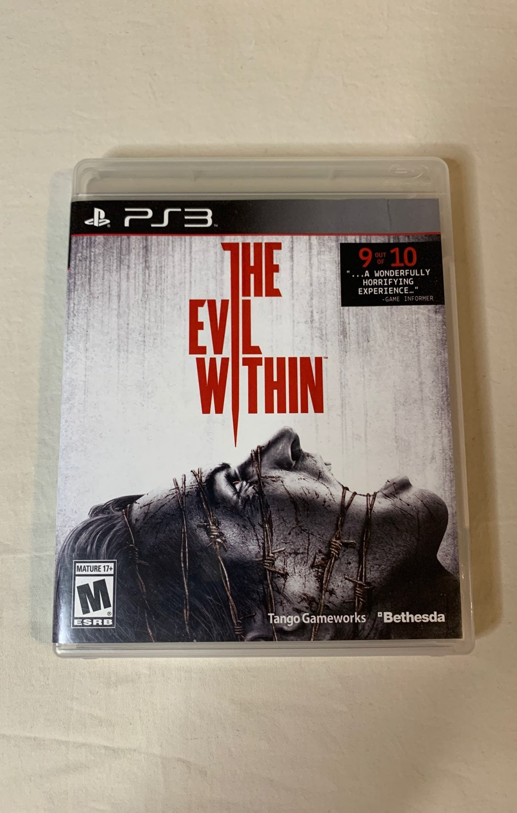 PS3 The Evil Within