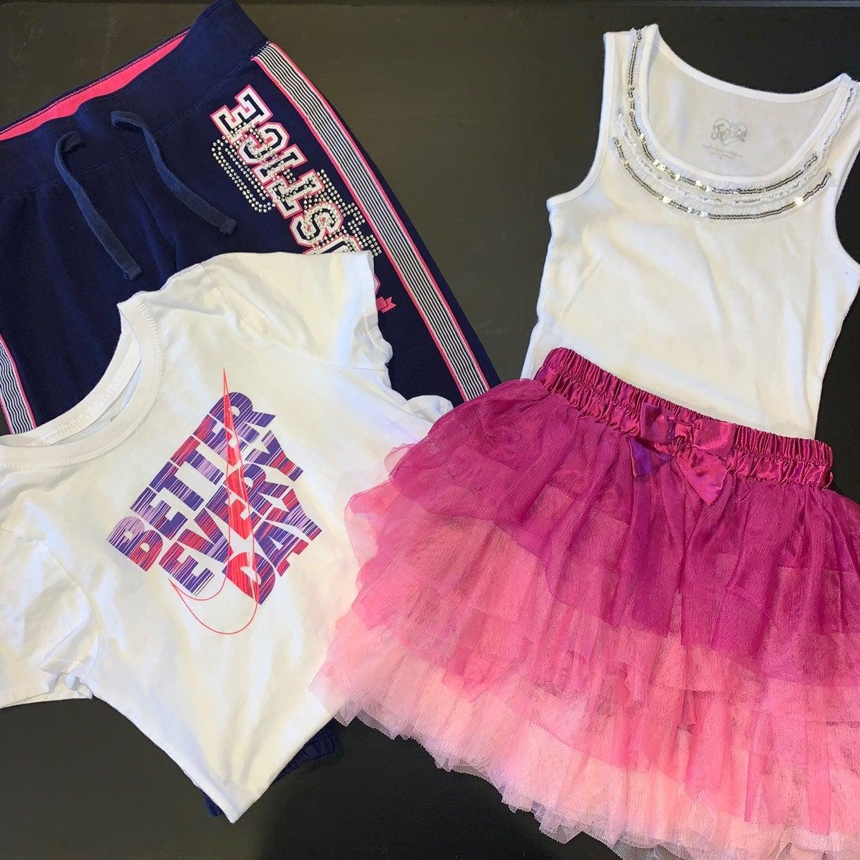 Skirt, Nike Shirt, Pants, Tank Bundle