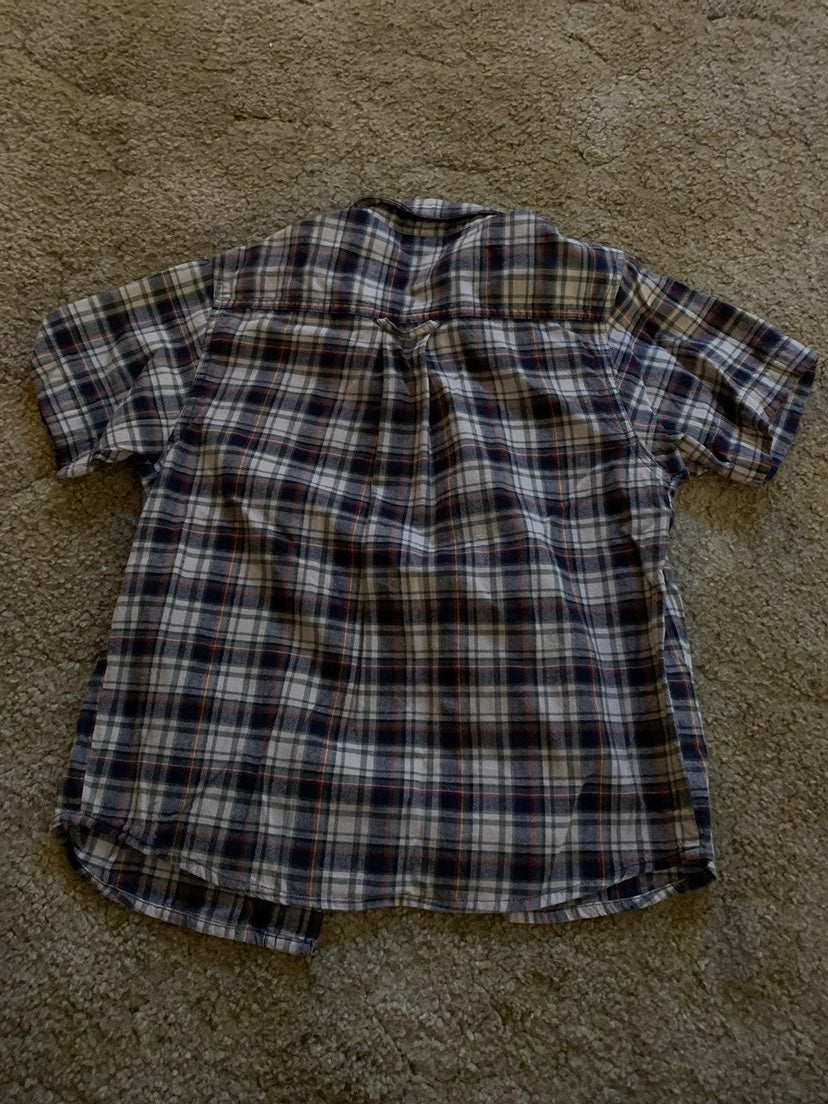 Kids R Us Boys Plaid Short Sleeve 5/6