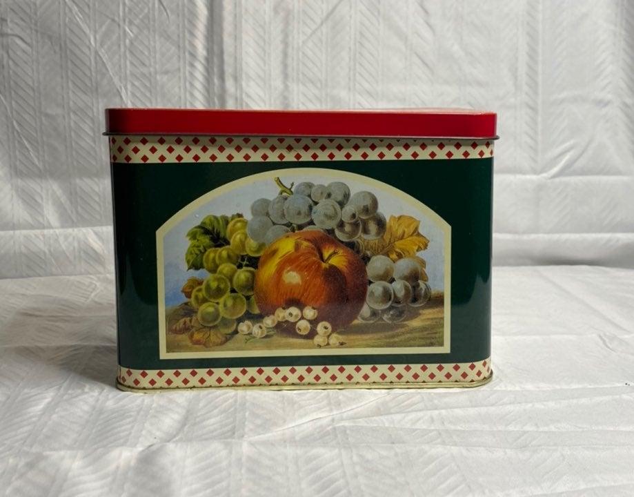 Betty Crocker collection tin recipe box